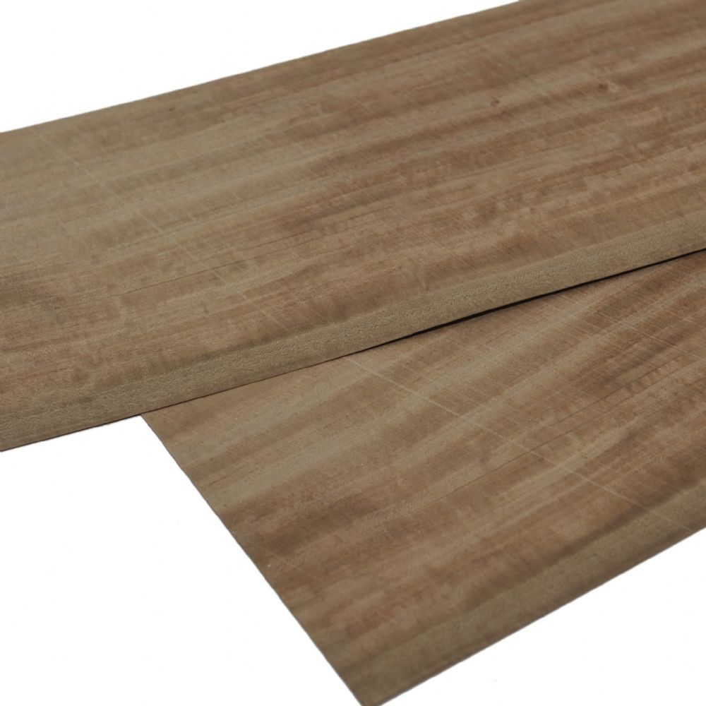 Satinwood wood veneer, Set of 2 sheets.